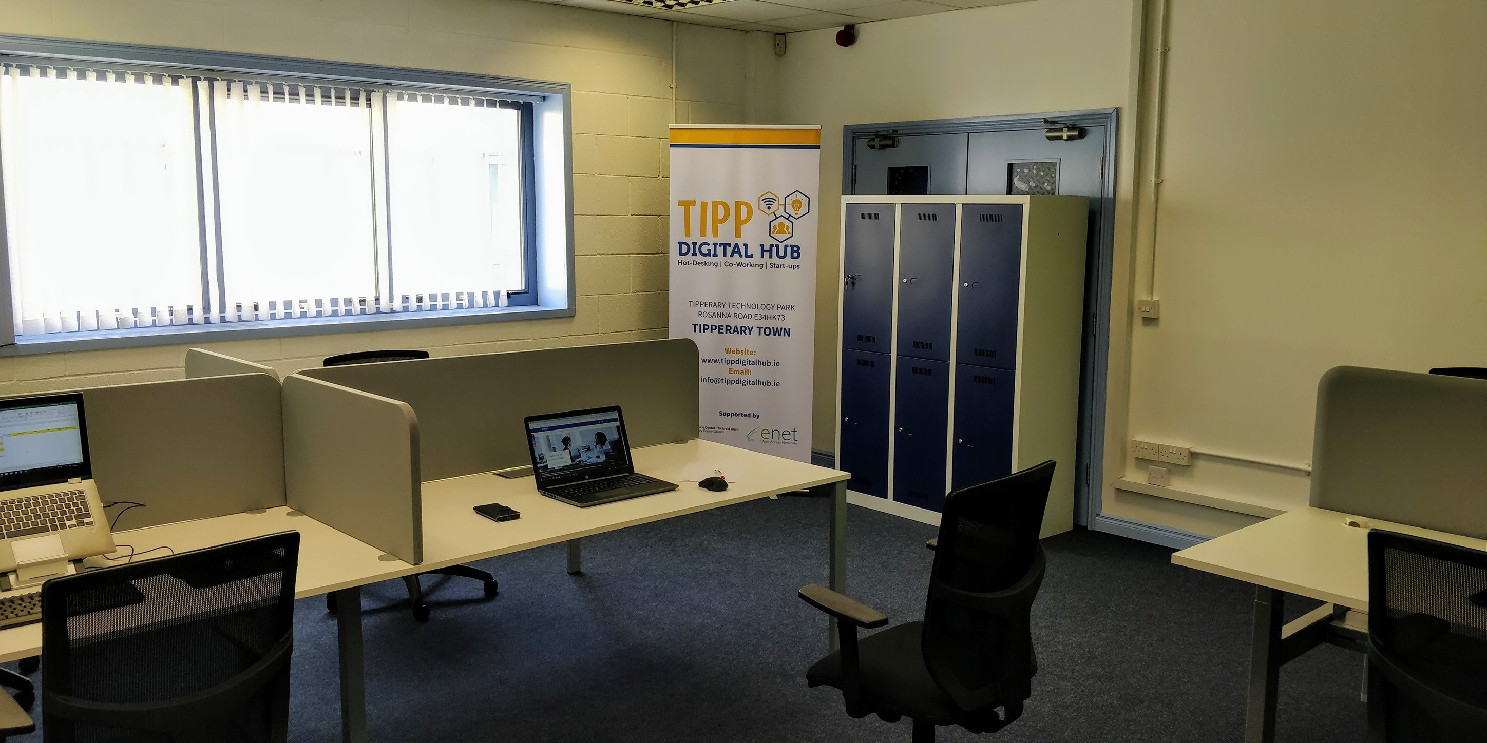 Tipp Digital Hub. Hot-Desking | Co-Working | Start up's.