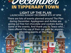 LIGHT up the plan xmas poster
